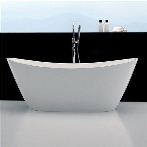 Utan tassar eller, med.. Fast gillar denna stil. Badkar Bathlife Ideal Relax Vit - Fristående badkar - Badkar - Bygghemma.se