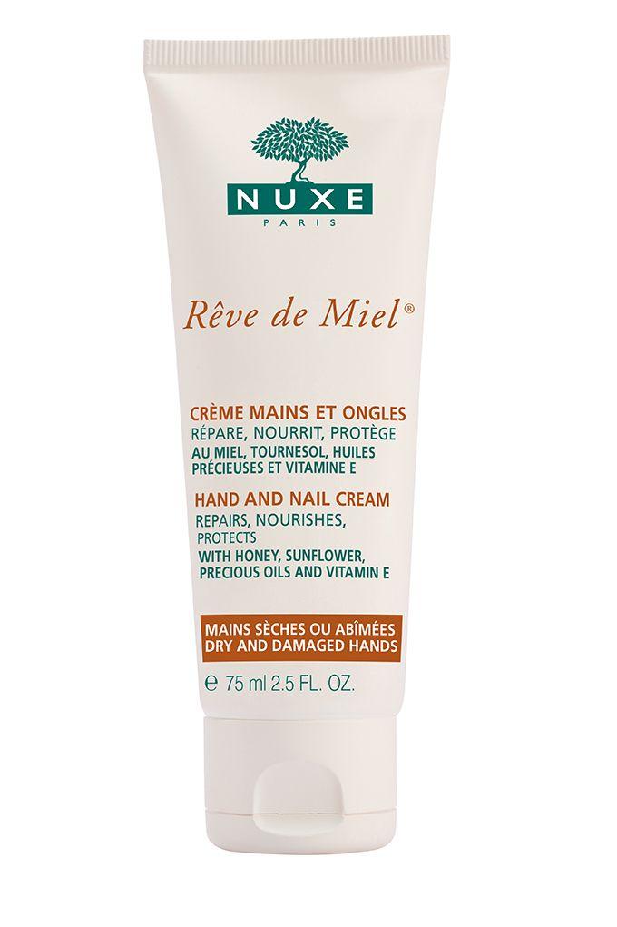 Crème Mains et Ongles Rêve de Miel® : nourrit, répare et protège. #nuxe #revedemiel