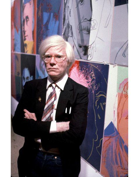 Livro de História: Andy Warhol