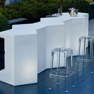 Bar modular, bufet, plastic, luminos, bar exterior, bar catering, bar evenimente, kit iluminare, bar outdoor, tejghea bar
