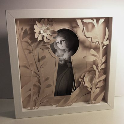 Emmanuelle Pioli: Tableaux en volume