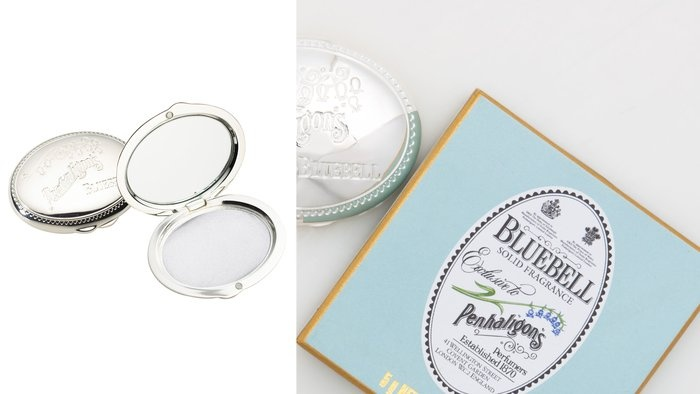 Bluebell solid perfume :} I bet it`s great to carry around in your bag and it won`t spill or spray inside. Wonder if the scents ate any good?