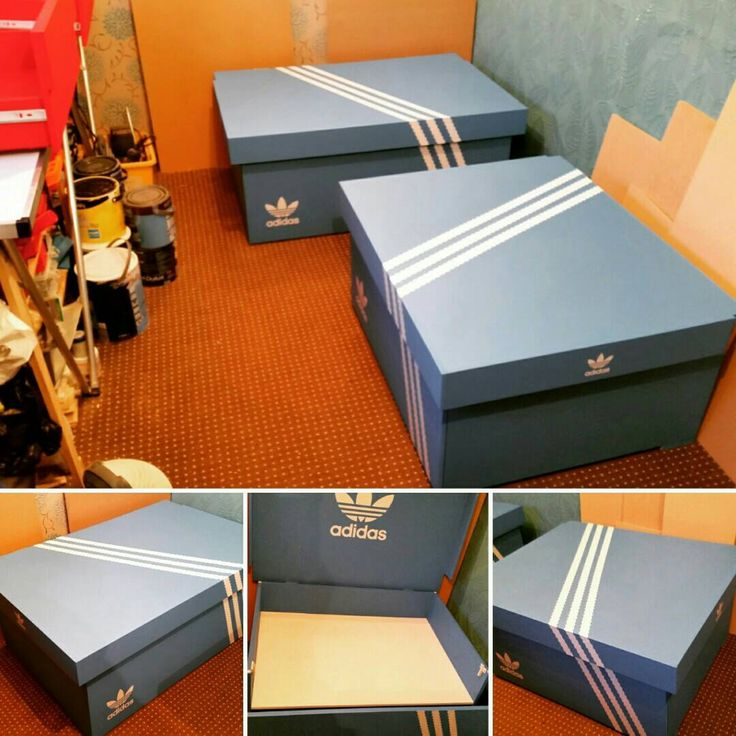 Latest two trainer boxes made. One large, one XL