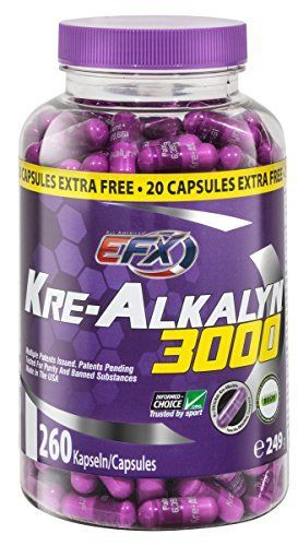 "Product review for All American EFX Kre-Alkalyn EFX, 240 Capsules -  The Kre-Alkalyn EFX difference. It's buffered, it's stable and it works. Kre-Alkalyn EFX represents a major breakthrough in performance supplementation thanks to its multi-patented, 'pH-Correct' creatine stabilization technology. Our scientist discovered that ""buffering"" to pH-12... -  http://www.bestselleroutlet.net/product-review-for-all-american-efx-kre-alkalyn-efx-240-capsules/"