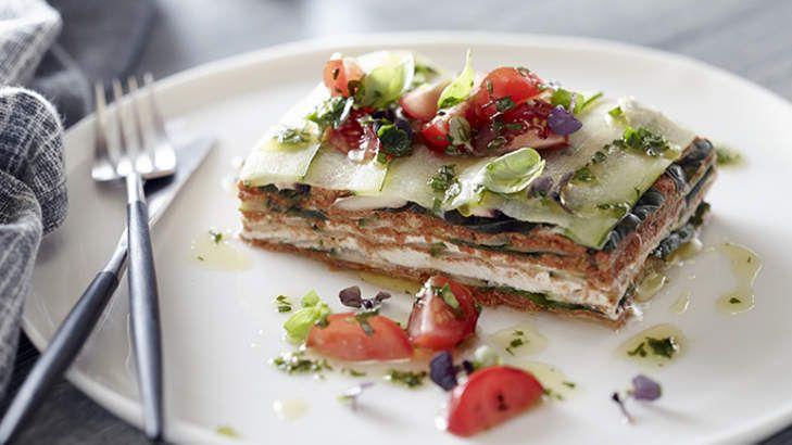 Taste of star power, Pete Evans' raw zucchini lasagne, 29th April 2014