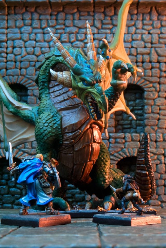 Dungeon Saga: The Dwarf King's Quest by Mantic Games — Karrathor the Unbroken - the Tyrant of Halpi
