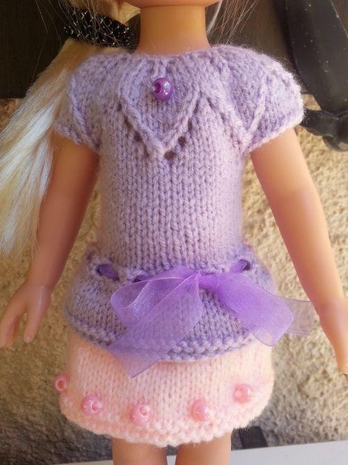 Tuto robe mauve pour poupée paola reina - http://tout-le-bonheur-du-monde.eklablog.com/tuto-robe-mauve-pour-poupee-paola-reina-a130316236