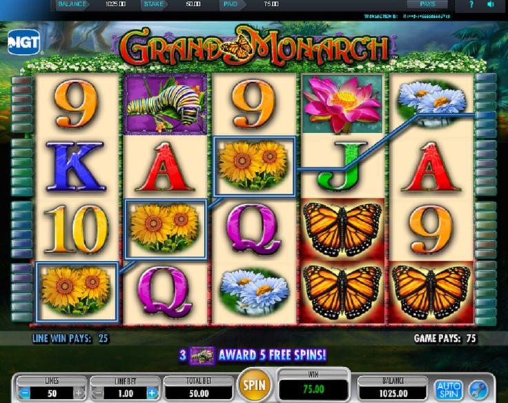 Farebné a krásne motýle vám prinesú úžasné a pestré výhry! http://www.automatove-hry-zadarmo.com/hry/automat-grand-monarch-zadarmo #grandmonarch #automatovehry #hry #vyhra