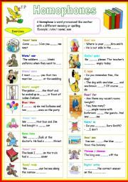 43 best images about grammar homophones homonyms on pinterest. Black Bedroom Furniture Sets. Home Design Ideas
