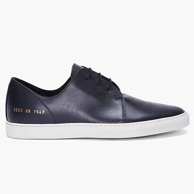 Fancy - Black Original Rec Sneakers by Common Projects