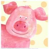 pigPercy Art, Hererrrrrrrr Piggies, Art Prints, Farms Art Projects, Farms Animal, Piggies Piggies, Percy Prints, Farms Life, Farms Farms