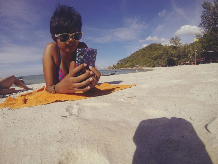 Beaches!!! But first let me take a selfie. ;)