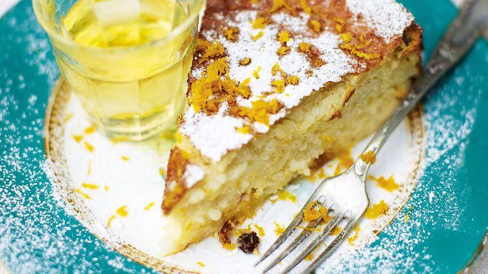 Orange rice cake (torta di riso al profumo d 'arancio) recipe : SBS Food