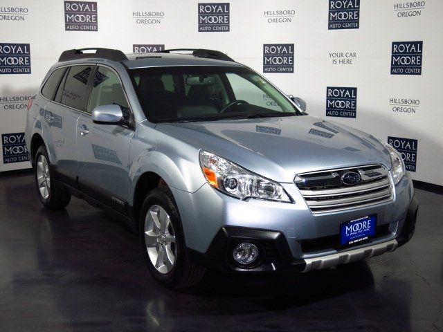 "Used 2014 Subaru Outback For Sale   Hillsboro OR 24/30mpg, (18""wh.?), blk leather interior $28,788, 10K+ mi."