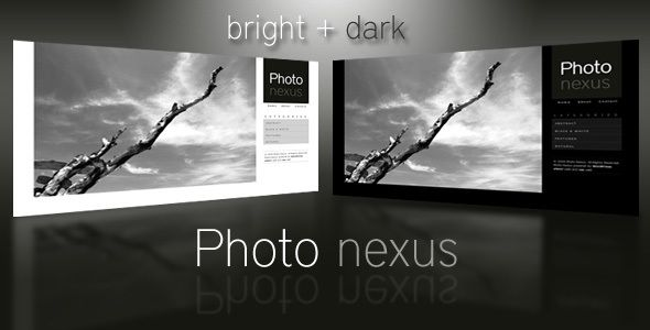 Photo Nexus wordpress gallery is a 2 color variation ( Bright and Dark) theme.    This theme is great for those who need a convenient way to publish and showcase a self managed Gallery of Photos, Artworks or Designs.