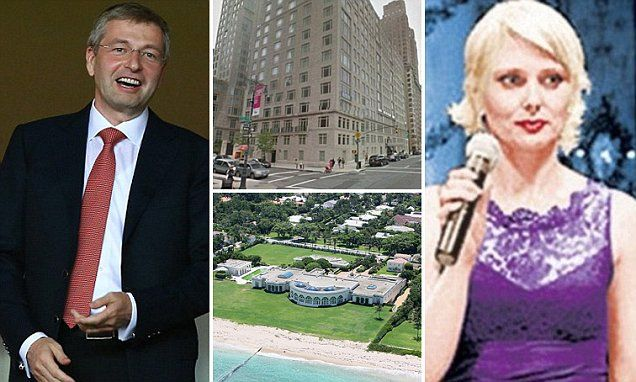 Russian billionaire Dmitry Rybolovlev's split from his wife is finalised | Daily Mail Online