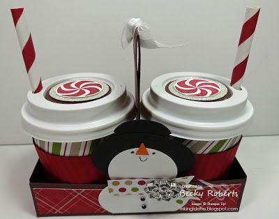 50 best Stampin Up Mini Coffee Cups images on Pinterest  Mini