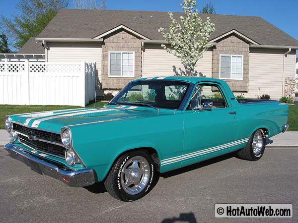 Superbe 1967 Ford Ranchero