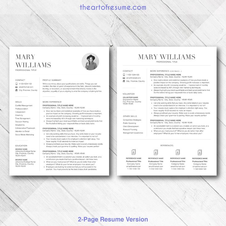 Resume template builder comes with cover letter, reference