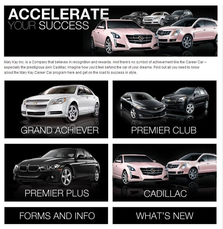 Mary Kay Career Cars! MaryKay Business Build Your