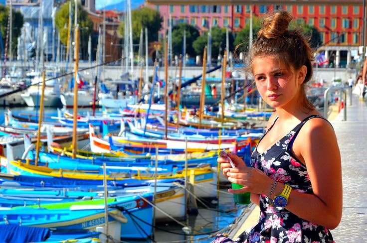 colors of Nice (France)