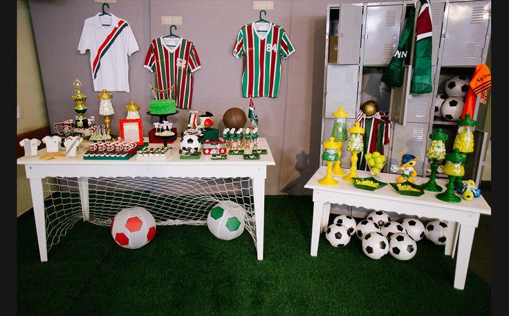 Veja como decorar uma festa infantil com o tema futebol - Mães - GNT