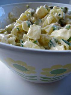 Ruokapankki, salaatti, Sinappinen perunasalaatti, Ruoka, Ruokablogi, Perunasalaatti, Kesä, Kevät, Helpot ja nopeat,