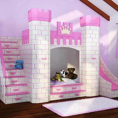 Las 25 mejores ideas sobre cama de castillo en pinterest y - Castillos para ninos de infantil ...