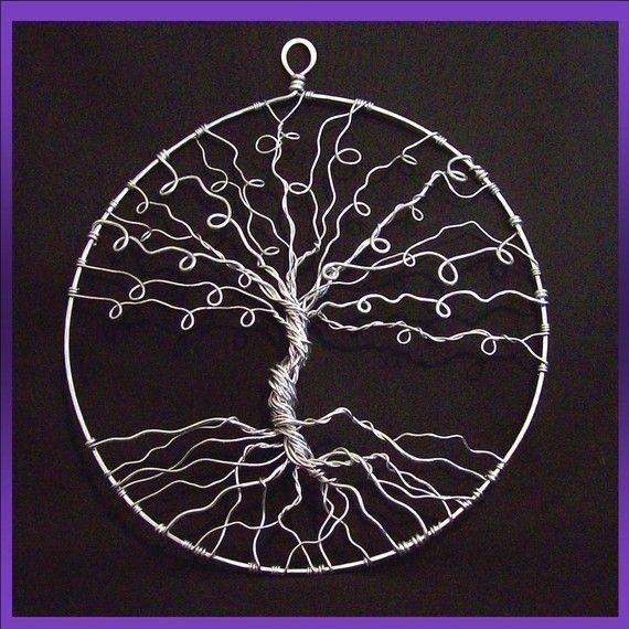 Earring Tree Tree of life wall hanging wall art by PurpleBusStudio