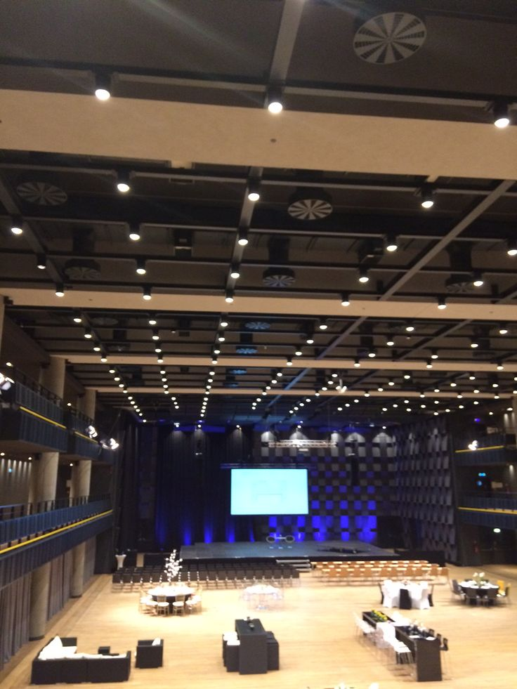 Forum Karlin - Prague Venue / Main hall can be split for small event / Flexible hall