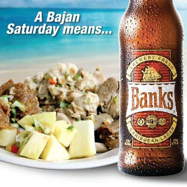 A Bajan Saturday means a Banks Beer