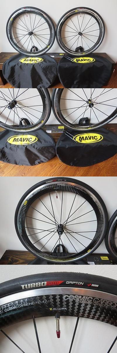 bicycle parts: Mavic Cosmic Carbone Premium Wheelset Shimano Sram 10 11 Clincher 700 Sl Carbon -> BUY IT NOW ONLY: $849.99 on eBay!