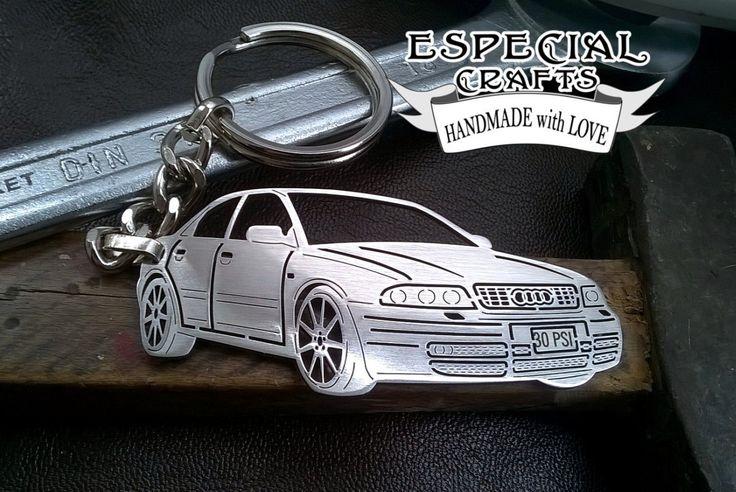 Audi keychain, Audi s4 b5, Audi, Personalized Key Chain, Custom Keychain, Stainless Steel Keychain, Audi key chain, Audi keyholder by EspecialCRAFTS o…