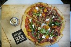 Pizza Bar, Byron Bay.  Open for takeaways!  02 66 85 5010