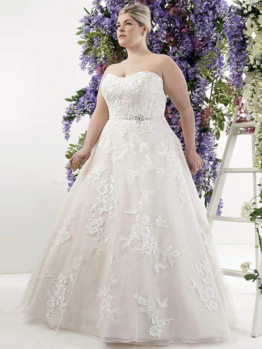 Callista London Plus Size Wedding Dress