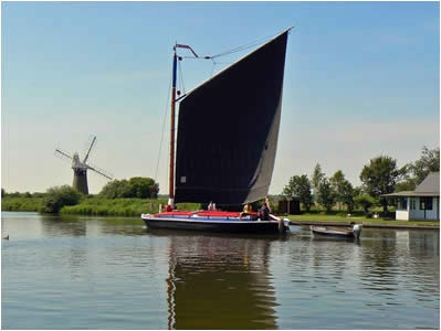 Norfolk Broads Wherry
