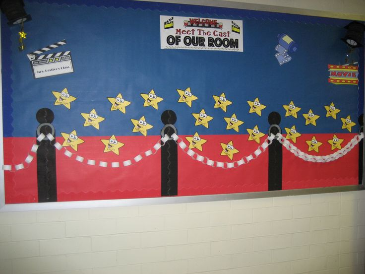 Classroom Decor Stars ~ Red carpet stars bulletin boards pinterest