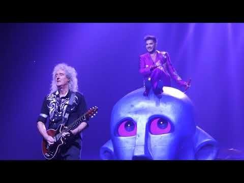 Queen+Adam Lambert - Killer Queen + Speech @ Wembley Arena in London  2017-12-15 - YouTube