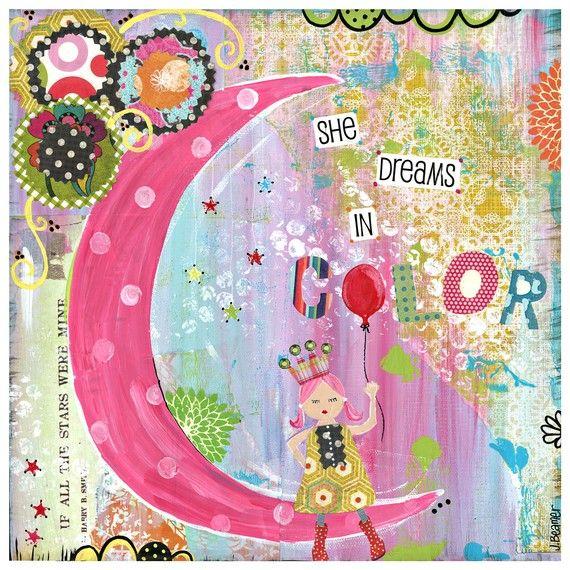 Sweet Dreams & Moonbeams - She Dreams in Color