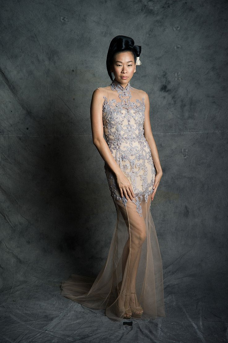 East meets west light and airy wedding dresses from cinobi with an
