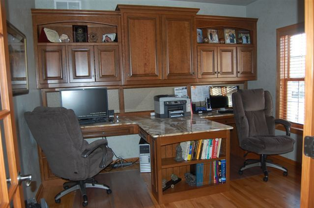 Built in office furniture gallery of office cabinets and Unique home office ideas