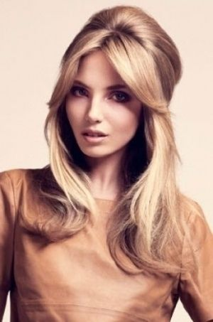 Sexy Hairstyles deep side part hairstyles Half Up Sexy Hairstyle