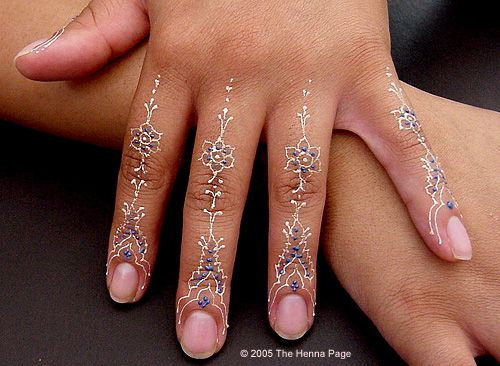 Make your own henna, different colors.