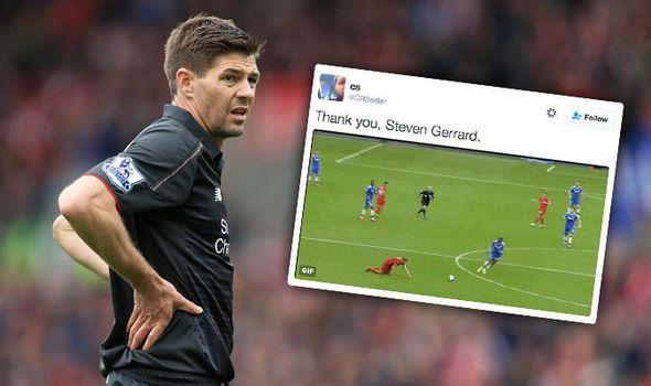 That slip! Arsenal Chelsea and Man Utd fans savage Gerrard on Twitter after retirement   via Arsenal FC - Latest news gossip and videos http://ift.tt/2gpulWt  Arsenal FC - Latest news gossip and videos IFTTT