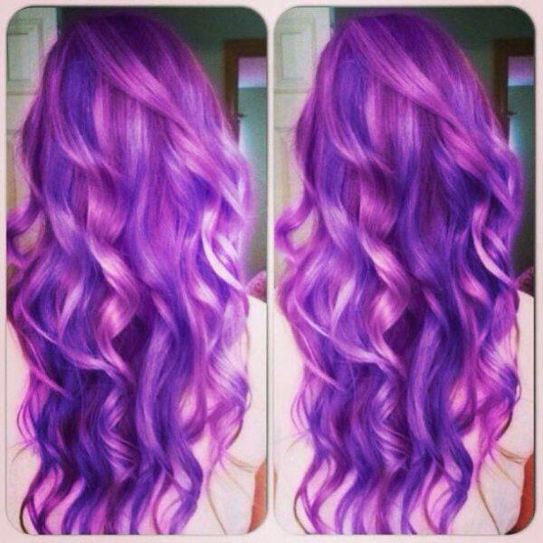 Cheveux mauve couleur de cheveux pinterest mauve for Mauve claire couleur
