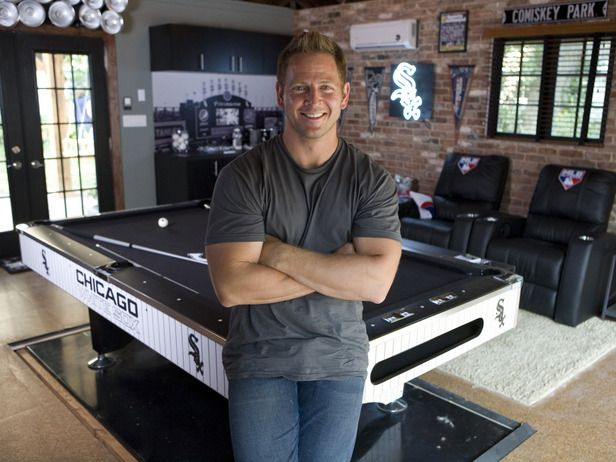 The Ultimate Major League Baseball Man Cave : Home Improvement : DIY Network