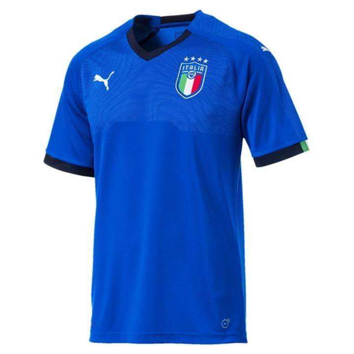 Puma Italy Home Shirt 2017 In 2020 Jersey Shirt Soccer Jersey Shirts