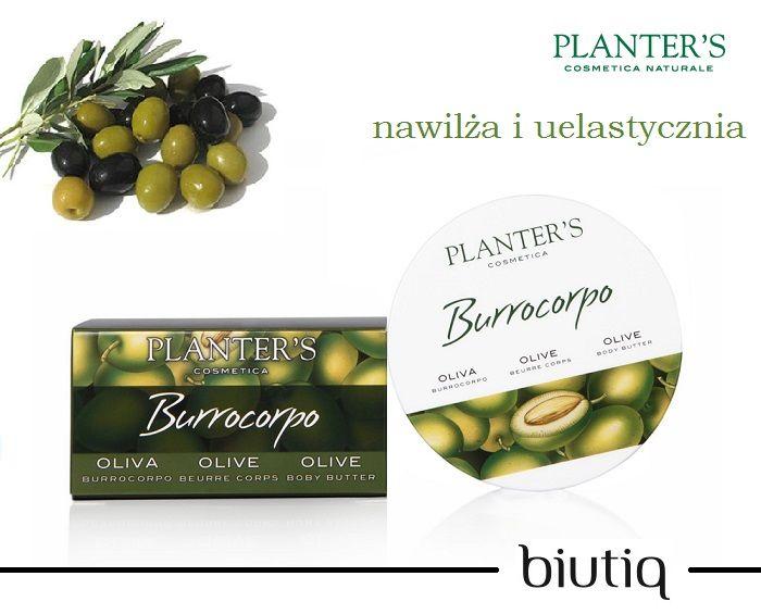 Planter's - Nawilżające masło do ciała z oliwą z oliwek