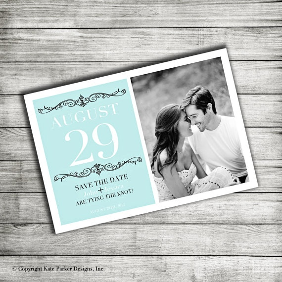 Custom Save The Date Cards!