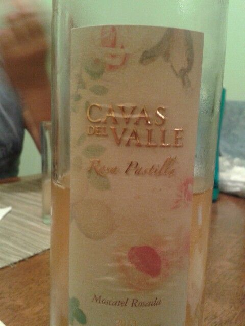 Cavas del valle - Moscatel rosado